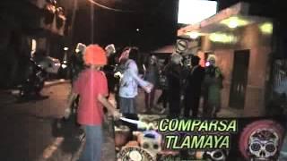 Desfile de comparsas en Xilitla San Luis Potosi Xantolo 2013 (Parte 1 de 3)