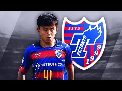 TAKEFUSA KUBO (久保 建英) - Insane Goals, Skills & Assists - 2017 (HD)