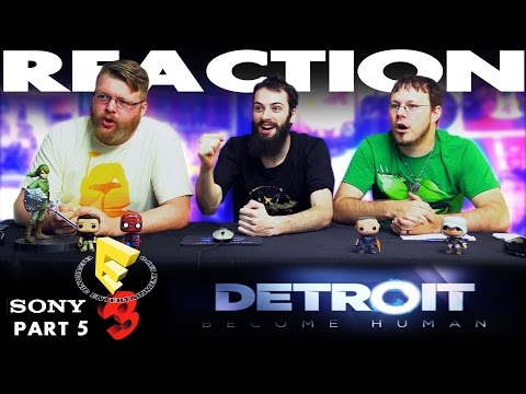 Detroit Become Human Trailer REACTION!! Sony E3 2016 Conference 5/12