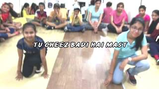 TU CHEEZ BADI HAI MAST MAST DANCE- Choreography by Sam