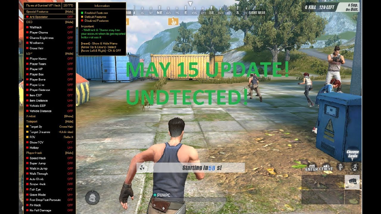 Cheat in ros