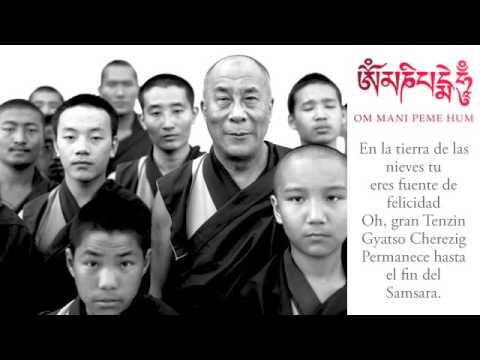 Oración de larga vida a Su Santidad el Dalai Lama en español y tibetano
