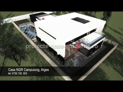 proiecte case moderne proiect casa ngr campulung arges cub architecture - Casa Cub Moderne