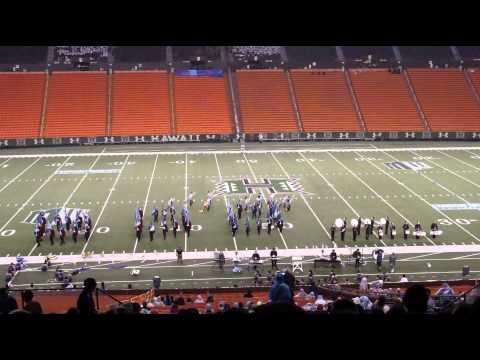 "FLIGHT | 2013 Iolani School ""Raiders"" Marching Band & Dance Team - Rainbow Invitational"