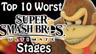 Top 10 Worst Super Smash Bros Ultimate Stages