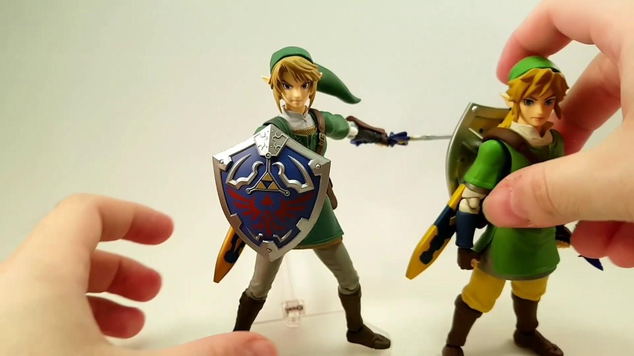 Legend of Zelda Twilight Princess Link Figma DX Action Figure