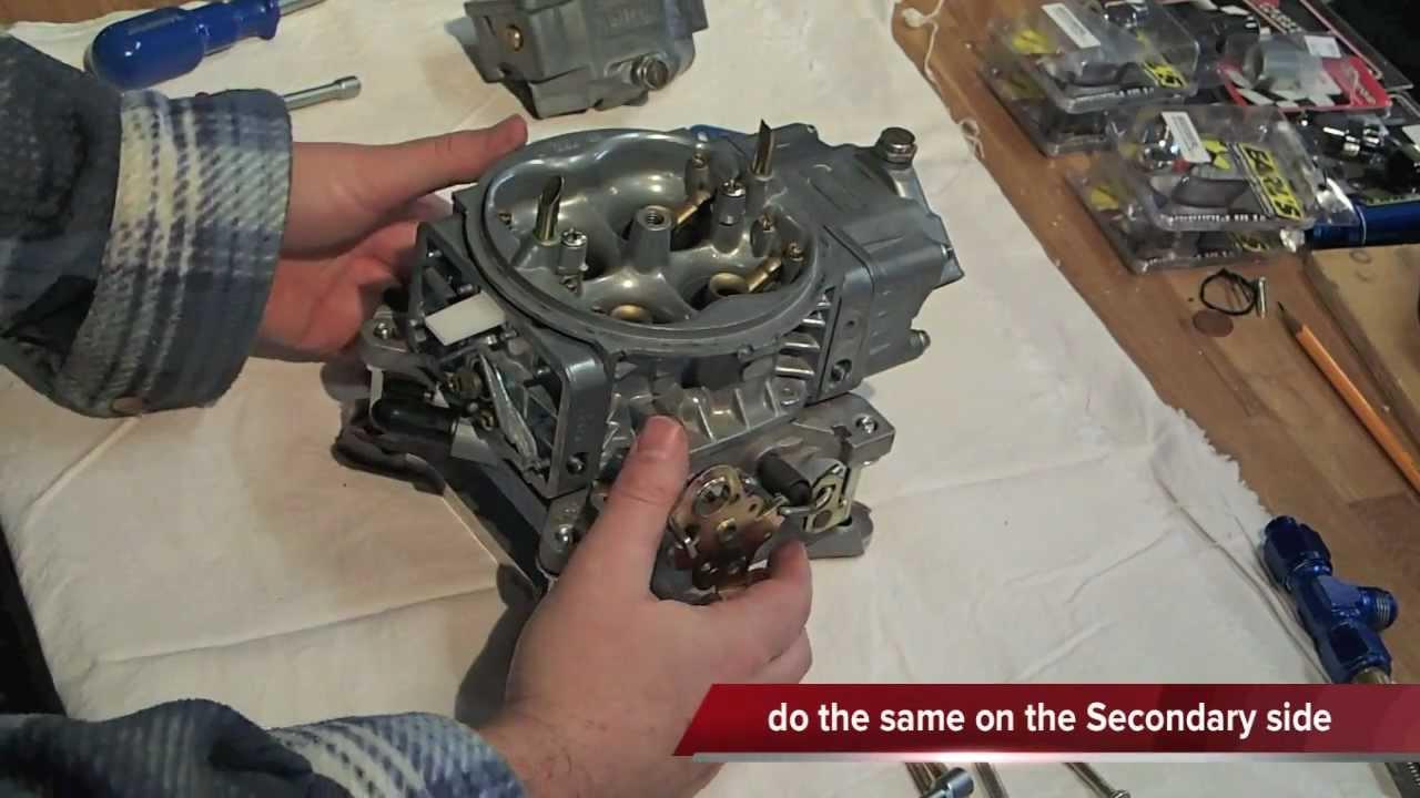 Holley 4150 Street HP carb rebuild- Tear- Down-Part 1/3