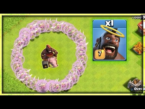 IMMORTAL HOG  - CLASH OF CLANS ! | MASS HEALERS + 1 HOG | OMG! IT'S  IMMORTAL ! | COC | HOGWALK