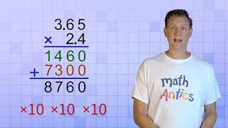 Decimal Multiplication & Division