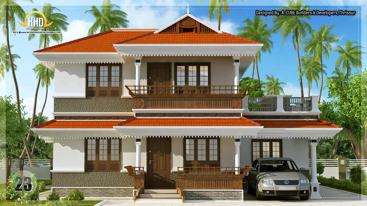 House design collection september 2012 youtube for House plans and designs