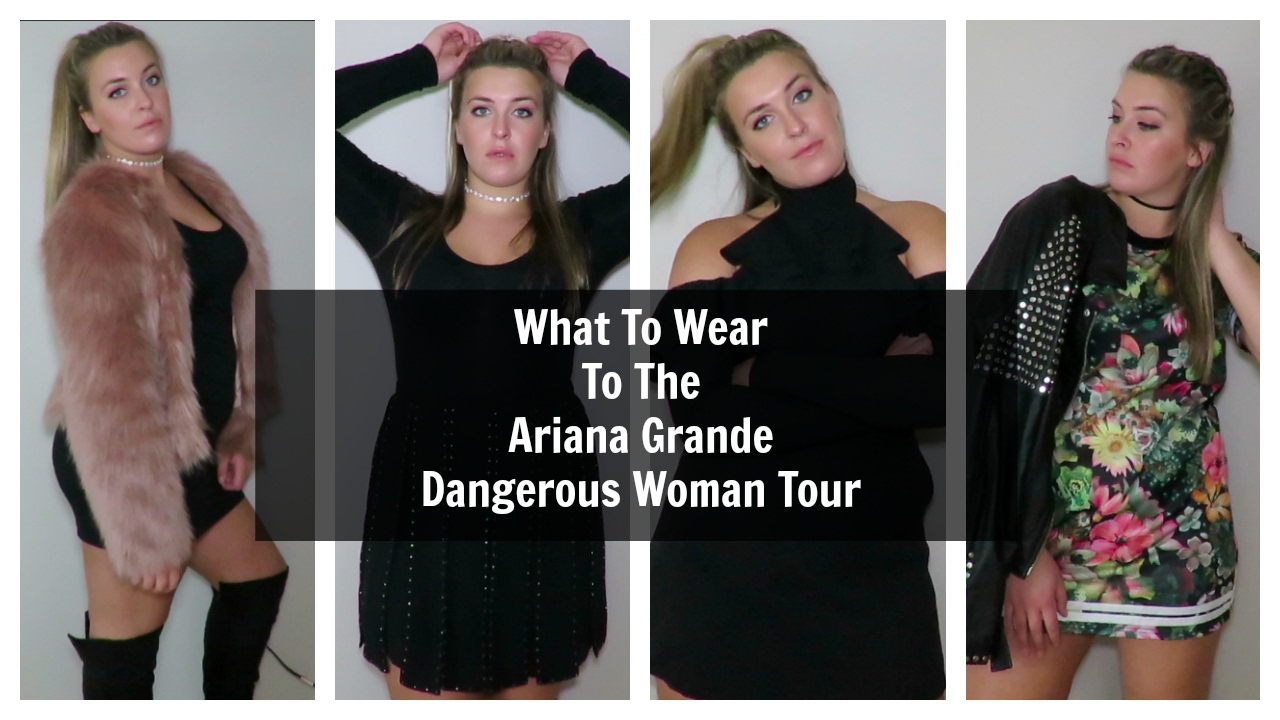 What to Wear to the Ariana Grande Dangerous Woman Tour