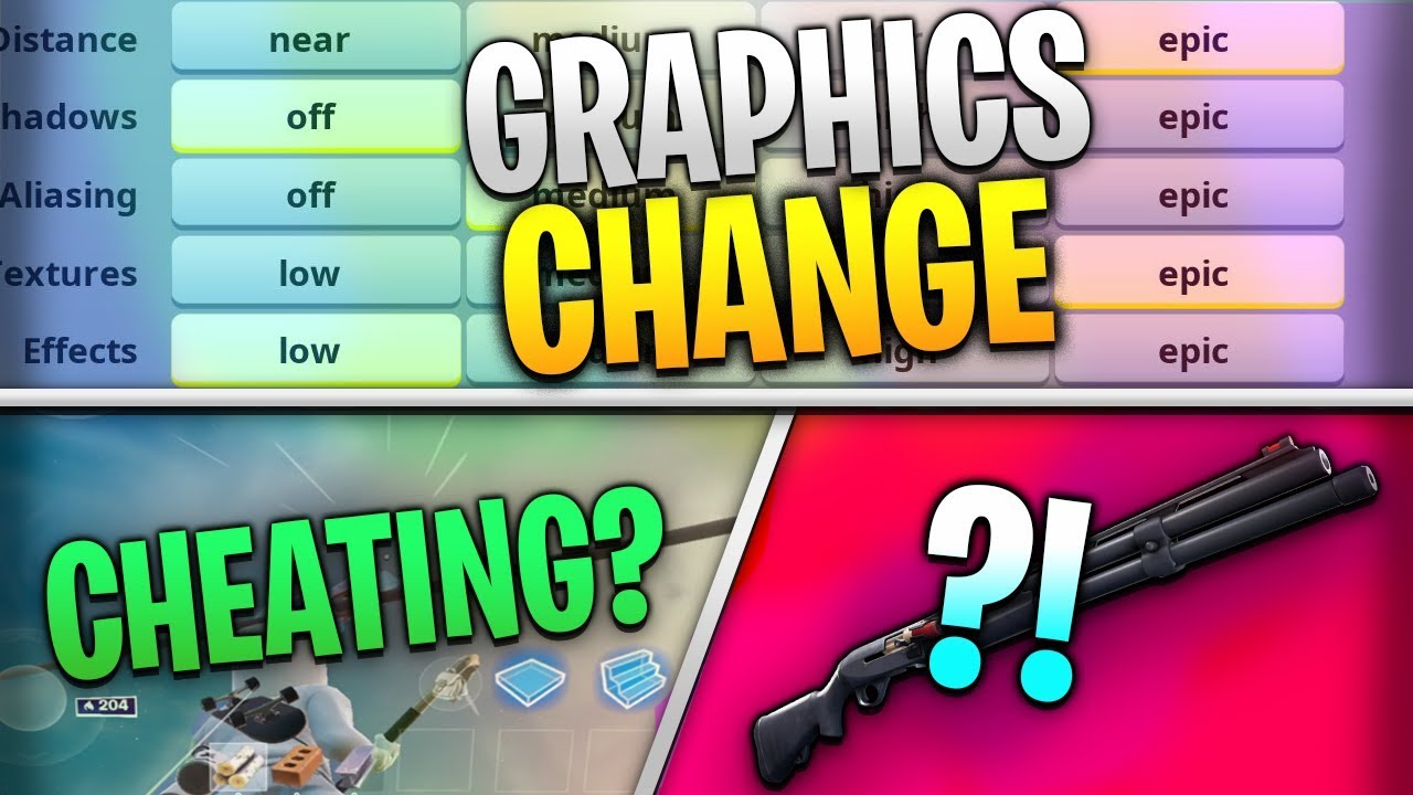 Fortnite Mobile News | FOV, Graphics Change, Cheats, AND MORE!