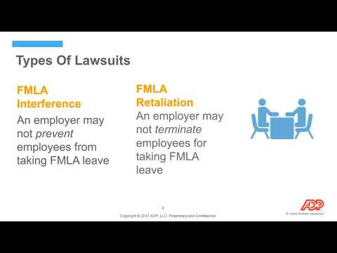 Part 2 - Family and Medical Leave Act: Compliance Risks, Challenges and Best Practices.