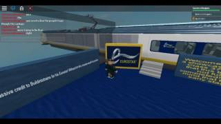 Roblox Class 373 Showcase (WIP) Eurostar interior Updates on 2 carriage