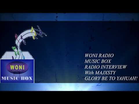 WONI MUSIC BOX RADIO INTERVIEW with MAJXSTY