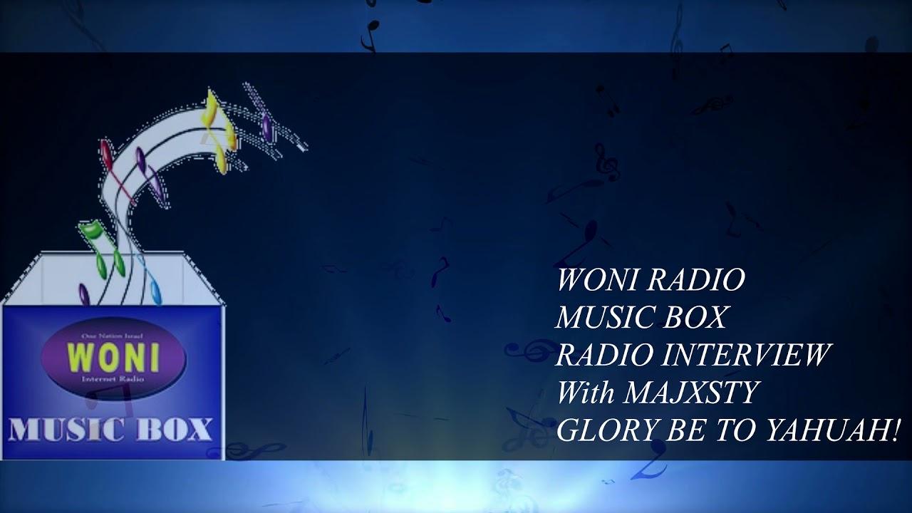 WONI MUSIC BOX RADIO INTERVIEW