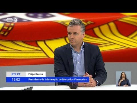 RTP3 - Filipe Garcia (IMF) sobre decisão DBRS e rating Portugal