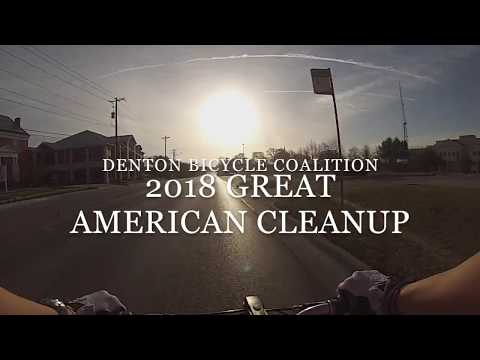 2018 Great American Cleanup - Denton Bicycle Coalition