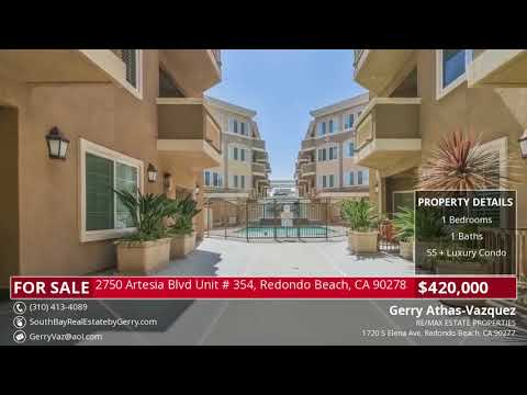 Video Tour: 2750 Artesia Blvd Unit # 354, Redondo Beach, CA 90278