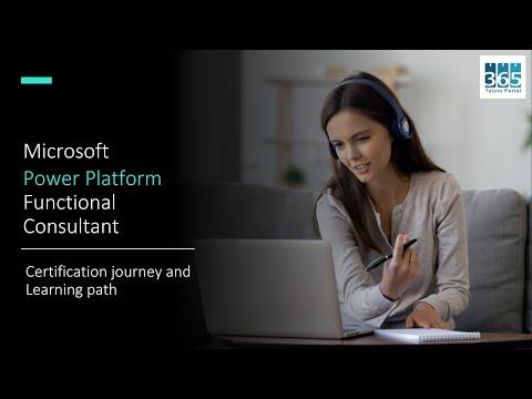 [WEBINAR] PL 200 Microsoft Power Platform Functional Consultant Certification Journey