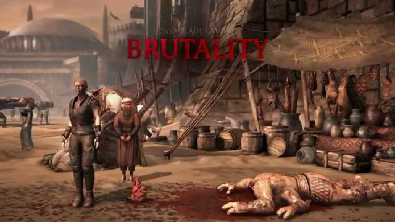 Mortal kombat x brutality secret