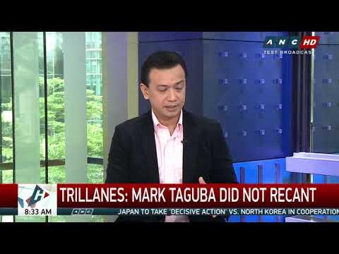 Taguba's apology not a recanting of Senate testimony: Trillanes