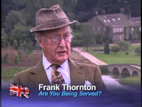 Frank Thornton discusses Captain Peacock from Funny Blokes of British Comedy on PBS