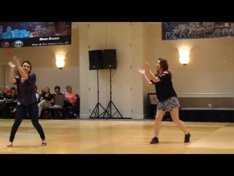 Clap Clap Clap Line Dance by Amy Glass Demo @ 2017 Big Bang