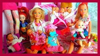Barbie Lekarzem! Szpital dzieci są chore!!   - bajki dla dzieci
