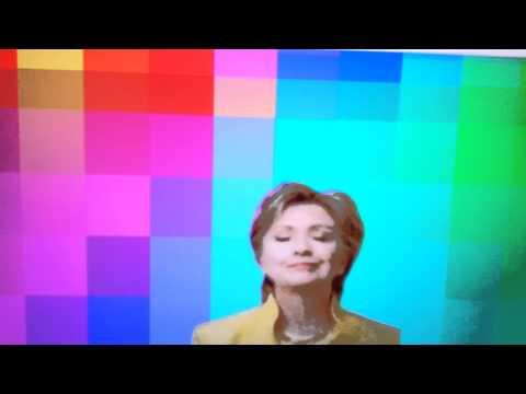 Hilary getting downnn
