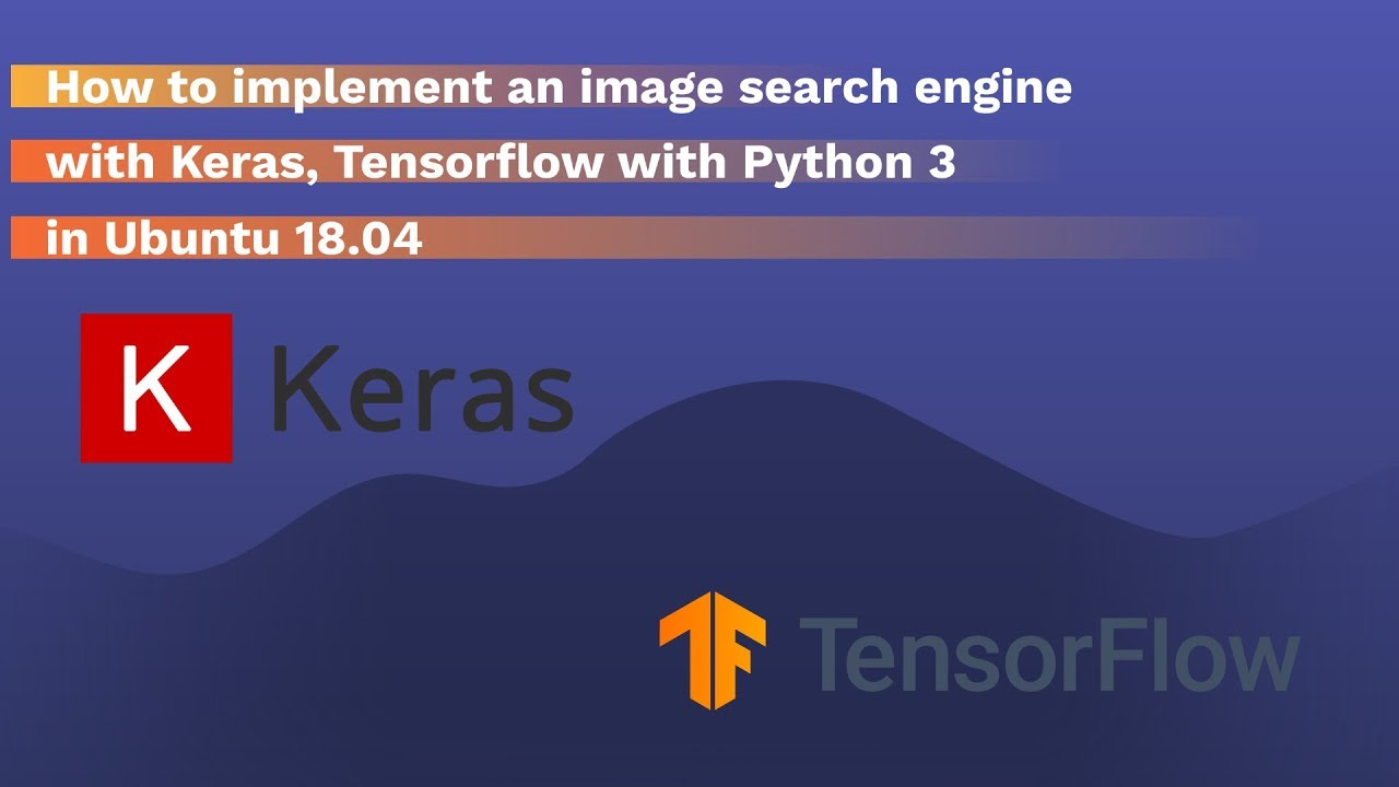 How to implement an image search engine using Keras