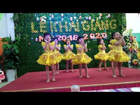 L? khai gi?ng n?m h?c m?i tr??ng m?m sunflower montessori Thái Bình