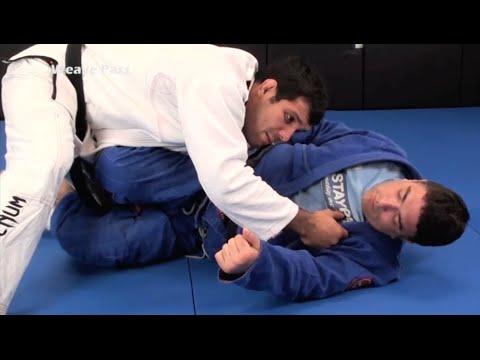 Pressure-Style Guard Pass by BJJ World Champion Rodolfo Vieira