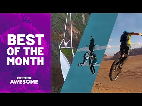 Unicycles and Skydiving | 30 Days in 30 Minutes (June 2019)