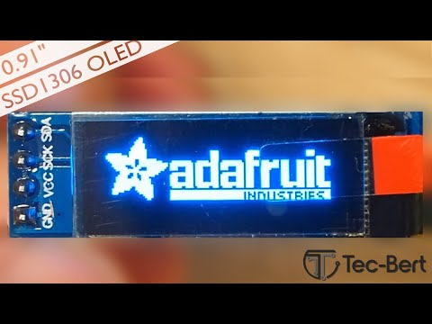 Arduino 0.91 OLED Display (SSD1306) [Tutorial] [Deutsch]