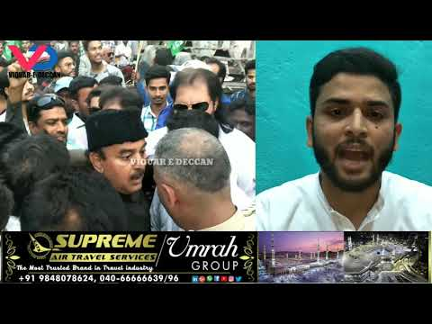 MBT V/S AIMIM  Road Show issue ( 2/12/2018)