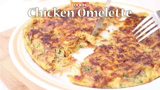 Chicken Omelette  |  Ventuno Home Cooking