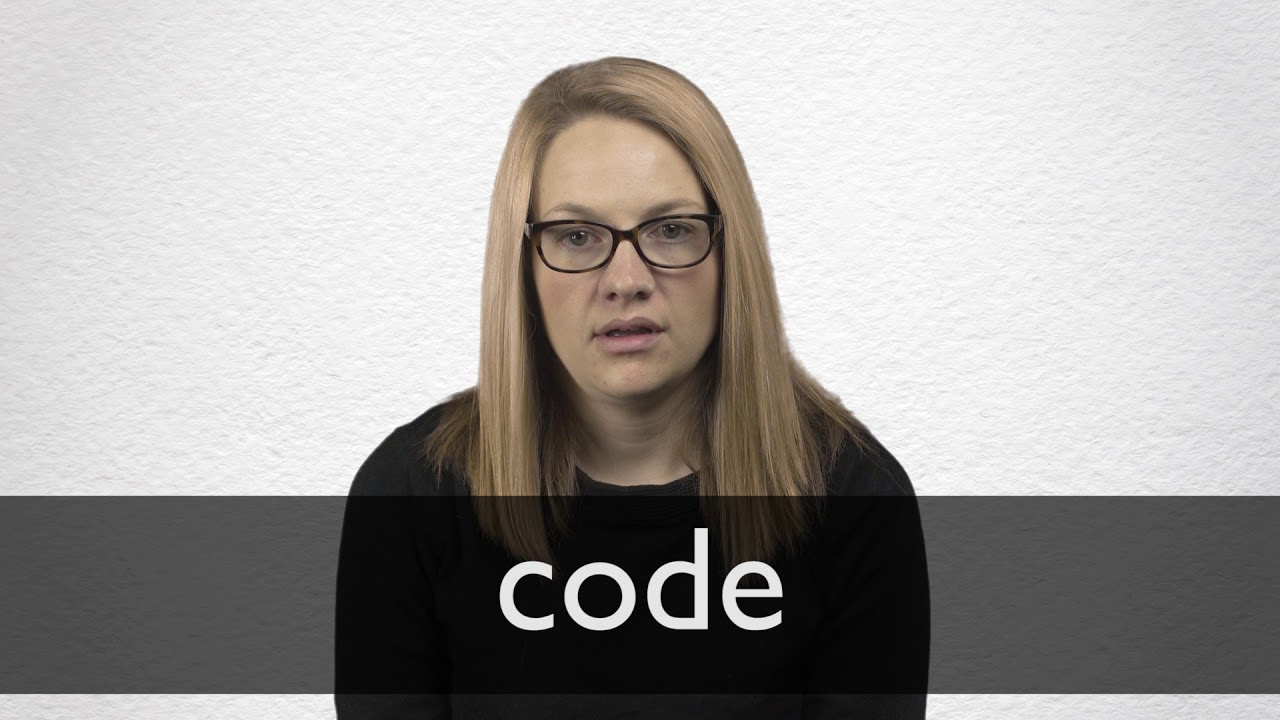 Code definition and meaning   Collins English Dictionary