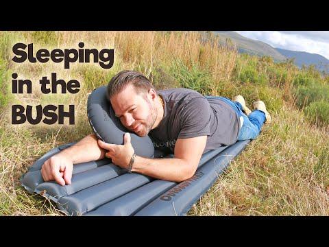 how-to-sleep-outdoors---comfortably!!!-outdoor-vitals-sleeping-pad-&-pillow