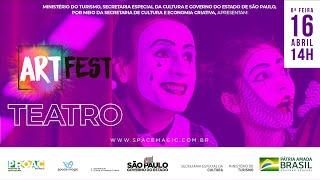 Art Fest | Teatro | Um dedo de Prosa
