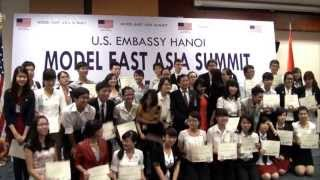 U.S. Embassy Hosts Model East Asia Summit