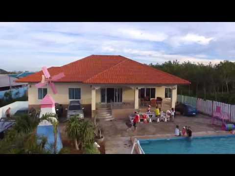 บ้านพักหัวหิน ที่พักหัวหิน มีสระว่ายน้ำส่วนตัว resorthuahin Topviewholiday