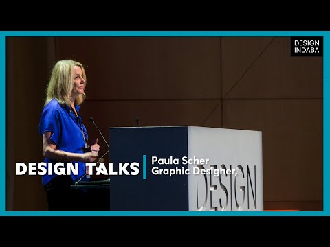 Paula Scher on creativity as a small defiant act of misbehaving