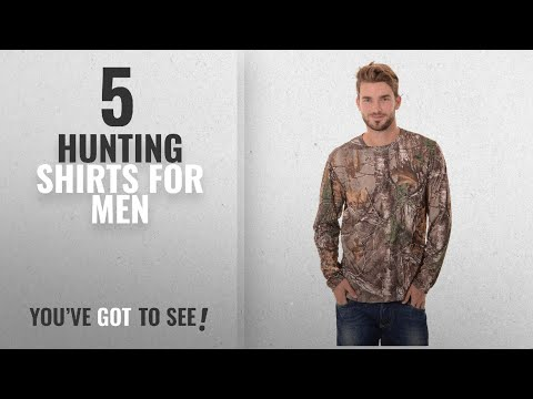 Top 10 Hunting Shirts For Men [2018]: Realtree Men's Long Sleeve Performance T-Shirt, XX-Large,