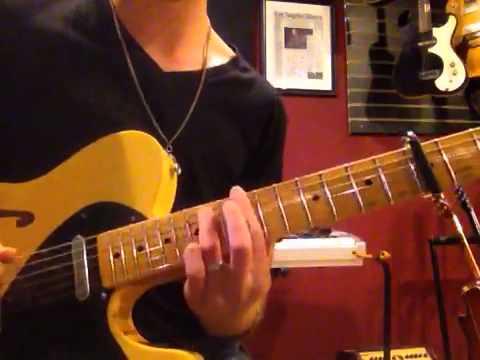 Working Man Blues Guitar Solo Jon Maclennan Youtube