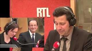 Jack Lang via Laurent Gerra devant François Gérard Georges Hollande