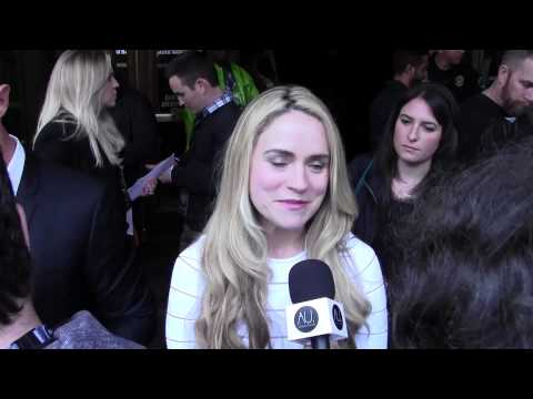 Amanda Noret at the Veronica Mars SXSW Red Carpet Film Premiere!