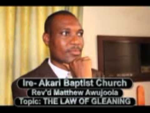 THE LAW OF GLEANING