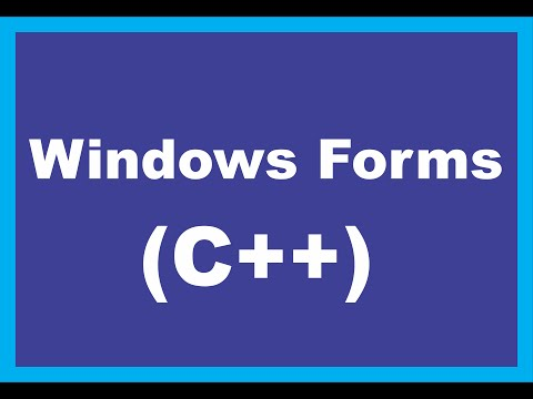 using visual studio c++ to make a simple application