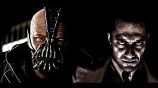 Doppiaggio Bane in italiano prima e dopo (Il Cavaliere Oscuro Il Ritorno)